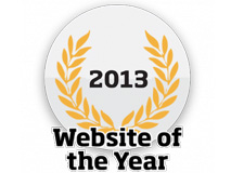 website of the year 2013